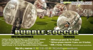 FUTBOL BURBUJA - BUBBLE FOOTBAL
